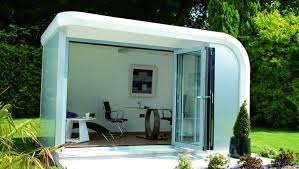 office garden pod. Garden Pod With Office Furniture - Outer Space Pods Designed To Your Requirements, Ireland