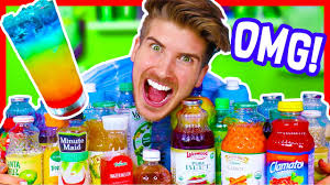 MIXING EVERY JUICE FLAVOR TOGETHER CHALLENGE YouTube