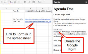 how to make a agenda agenda doc send a google form and create an agenda teacher tech