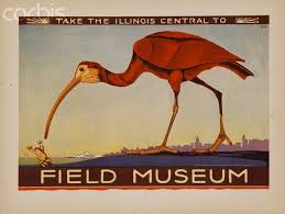 Take the Illinois Central to Field Museum Poster by Leona McGill ...