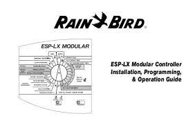 Rain Bird Esp Me Programming Chart Esp Lx Modular Manual Rain Bird