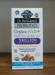 details about garden of life dr formulated probiotics organic kids berry cherry 30 chews