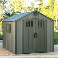 lifetime 8 x rough cut outdoor storage shed 8a10 building plans free plans storage shed plans