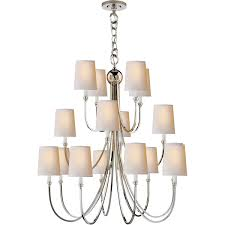visual comfort tob5019 reed 16 light extra large chandelier with