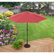 Small Picture Better Homes Gardens 9 Market Umbrella Red Walmartcom