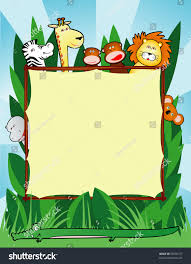 jungle animal background.  Background Background Customizable With Funny Smiling Jungle Animals Vector To Jungle Animal U