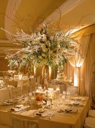 White And Gold Decor Fairy Tale Winter Wedding With White Amp Gold Dccor In Beverly