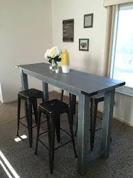 kitchen bar table sets this is a handmade rustic bar height table chairs not included this