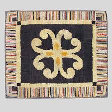 rugs textiles vintage early 20th century american folk art