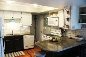 Subway Tile Kitchen Backsplash How To Install A Subway Tile Kitchen Backsplash