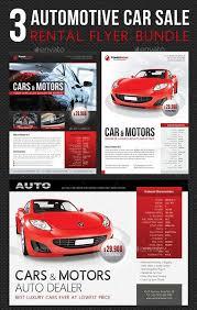 Flyer Templates Graphicriver 3 In 1 Automotive Car Sale