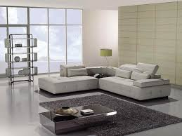 white modern leather sectional Cole Papers Design Different