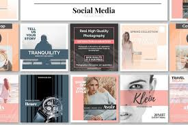 Social Media Design Templates 20 Best Social Media Kit Templates Graphics Design Shack