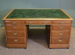 victorian office furniture. Huge Antique Victorian Oak Executive Office Desk Furniture