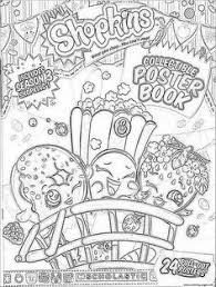 Shopkins Coloring Pages To Print Of Soda Popsicles Molds