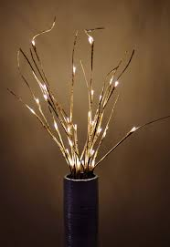 Led Lighted Branches With Timer