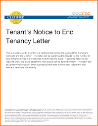 13 Commercial Lease Termination Letter To Tenant Adjustment Letter