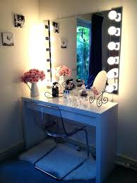 modern mirrored makeup vanity. Makeup Vanity Furniture With Lights Bedroom Mirror And Amazing . Modern Mirrored