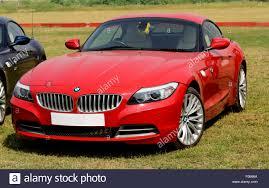 Bombay, India - January 26, 2013:Red BMW Z4 Roadster at Bombay ...