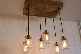 edison lighting fixtures. Top 55 Cool Mason Jar Edison Bulb Chandelier With Reclaimed Wood For Ceiling Lighting Fixture Romantic Sparkle Your Room Bulbs Lowes Chandeliers Cheap Fixtures