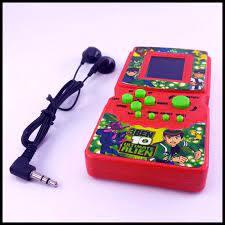 Máy chơi game xếp hình cầm tay huyền thoại Brick Game 9999 in 1 + Tặng free  túi chống nước điện thoại (BRICK.GAME10)