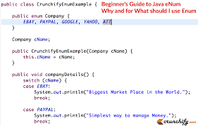 beginner s guide to java enum why and for what should i use enum  beginners guide to java enum why and for