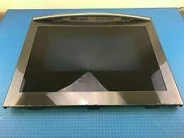 genuine samsung range oven door outer