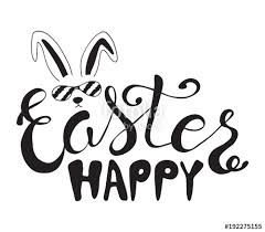 Easter Greeting Card Template Awesome Hand Drawn Easter Quote Greeting Card Templates With Lettering