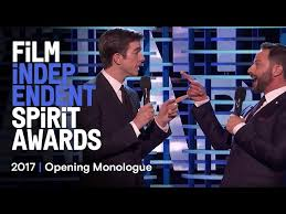 Spirit Awards Chart 2017 Watch John Mulaney And Nick Krolls Beautifully Bizarro