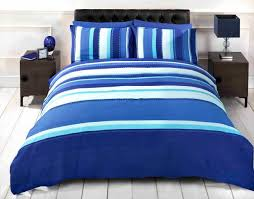detroit duvet cover set blue single