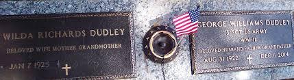 Wilda Richards Dudley (1925-2018) - Find A Grave Memorial