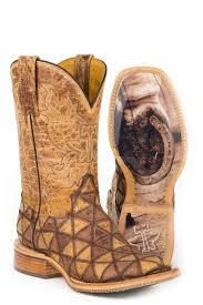 Tin Haul Ladies Dont Be Square Cowboy Boots