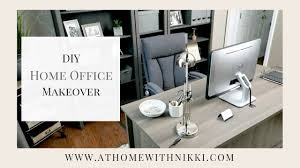 home office makeover. Contemporary Office HOME ORGANIZATION IDEAS  MASCULINE OFFICE MAKEOVER My Husbandu0027s New Home  Office Intended Makeover
