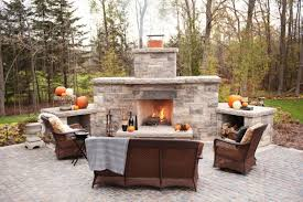 outdoor gas fireplace kits natural
