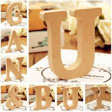 26 wooden letters alphabet wall hanging