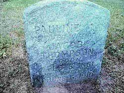 Pauline Holt Thompson (1861-1910) - Find A Grave Memorial
