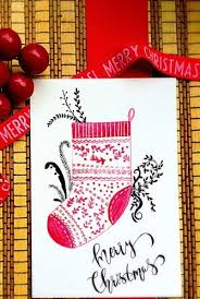 christmas postcard maker 39 diy christmas cards homemade christmas card ideas 2019