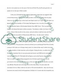 the rwanda genocide essay example topics and well written essays related essays united nations and rwanda genocide