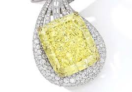 Diamond Designs 100 Carat Yellow Diamond Necklace To Headline Sothebys Hong