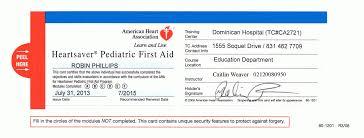 cpr certification american heart ociation elegant first aid certificate template atlanta flight attendant cover letter of