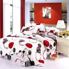 red and white comforter interior surprising red black and white comforter set on home remodel ideas red and white comforter