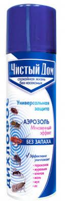 Аэрозоль <b>Дихлофос</b> от летающих и <b>ползающих</b> насекомых ...