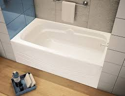 acrylic alcove bathtub fresh the avenue alcove bathtub by maax is a quality and practical