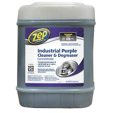 Zep Commercial Industrial Purple Cleaner 5-Gallon Degreaser
