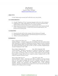 Complex Mall Store Manager Resume Sample Resume For Manager Top 8