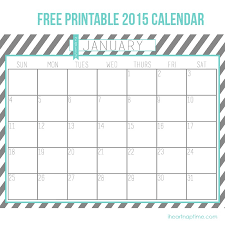 Free Printable Calendar 2015 By Month Best Photos Of Free Printable 2015 Calendar 2015 Free