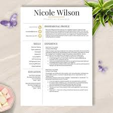 Functional Resume Template 2018