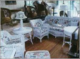 vintage wicker patio furniture. Antique Wicker Couch Vintage Patio Furniture W