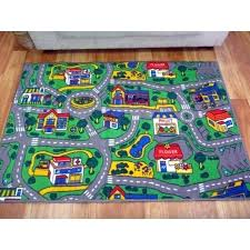 play rug with roads road rugs kids city streets car activity play mats childrens play rug