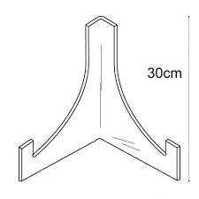 Acrylic Plate Stands For Display Best China Stands Acrylic PERSPEX Acrylic Display Equipment And
